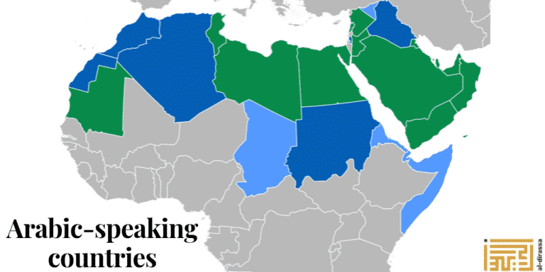 pays parlant la langue arabe