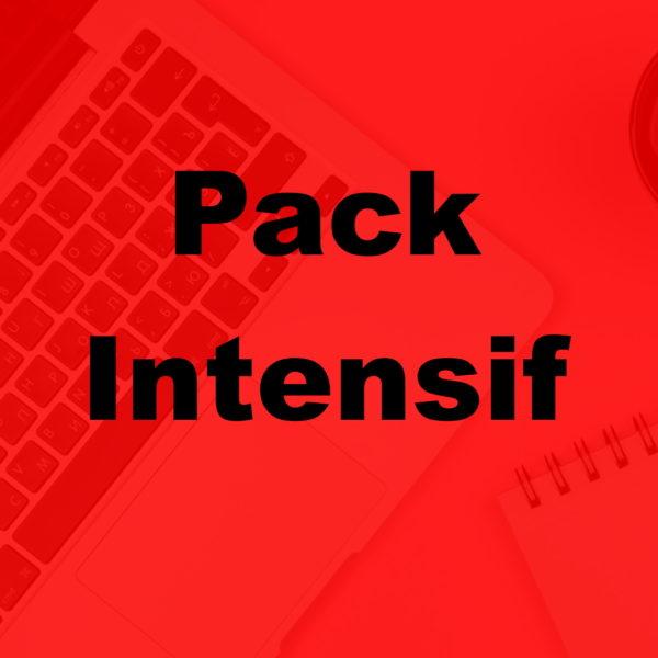 pack intensif