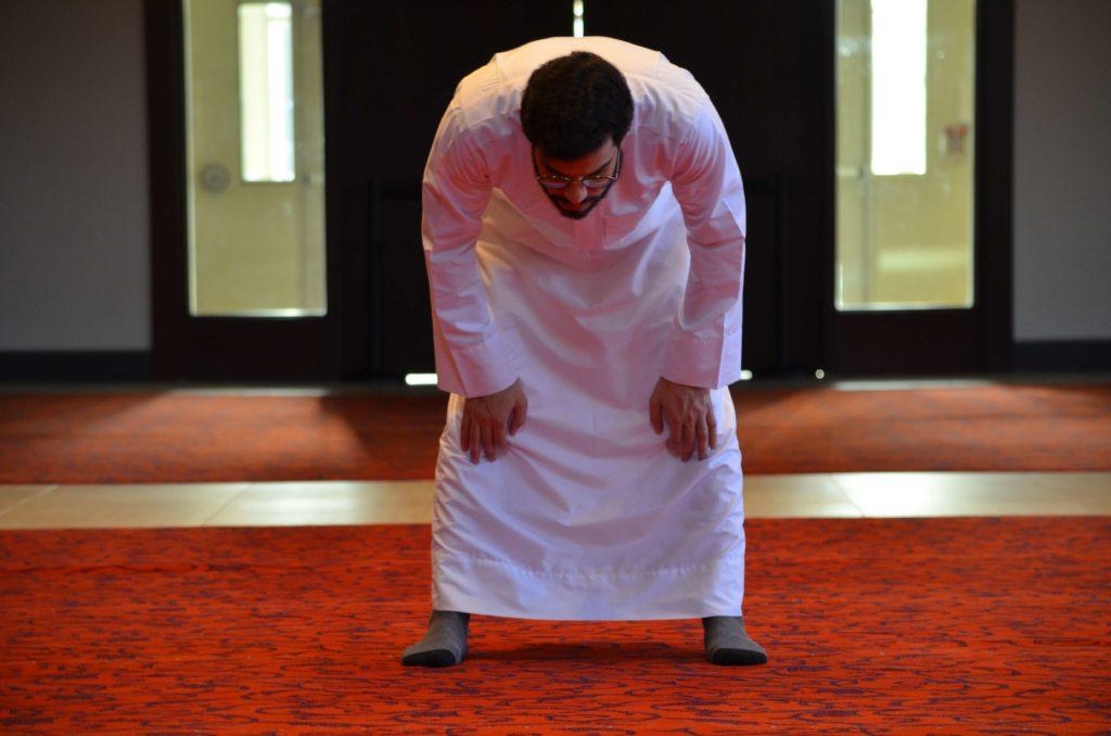 prière - inclinaison