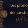 pronoms démonstratifs en arabe | cours d'arabe gratuit